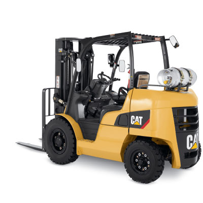 Used IC Forklift Equipment At Wiese