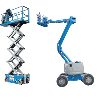 Used High Reach Aerial Equipment At Wiese