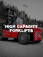 High-Capacity Forklifts At Wiese.